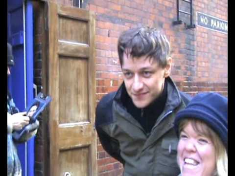 James McAvoy at stage door
