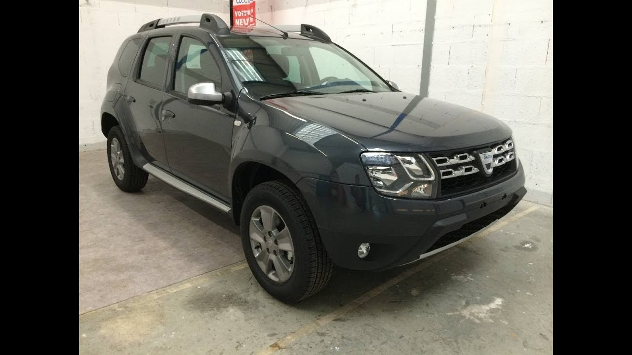 coccicar nouveau dacia duster prestige gris com te youtube. Black Bedroom Furniture Sets. Home Design Ideas