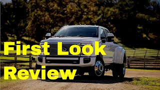 2020 Ford F-Series Super Duty - First Look Review: Design, Engines, Safety, Gallery, Availability