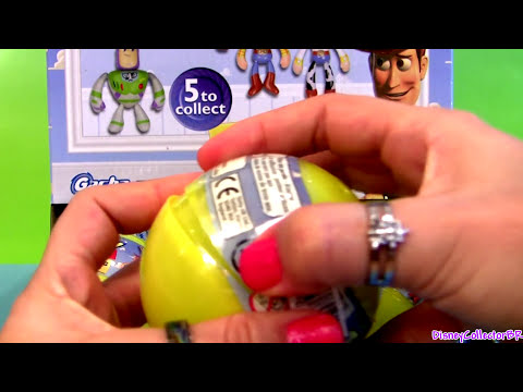 Toys Surprise Toy Story 2 Disney Pixar Gasha Tomy Woody Buzz Lightyear Jessie Disneycollector