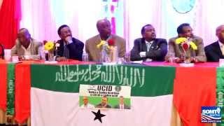 Soo Dhaweyntii Musharaxa jagada Madaxw ee Xisbiga UCID Jamal Ali Hussein ee  Magaalada Seattle,WA