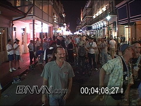 5/6/2006 NOLA 9 Months After Katrina Part 9 - New Orleans French Quarter B-Roll Video