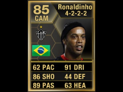 FIFA 13 SIF RONALDINHO 85 Player Review & In Game Stats Ultimate Team