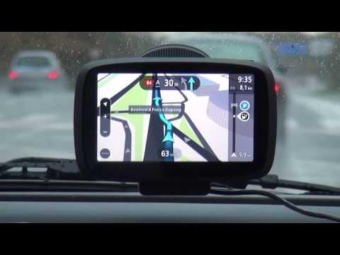 TomTom  GPS  GO 500-  Serie 2013   Teste de Navegação em 3D (HD)