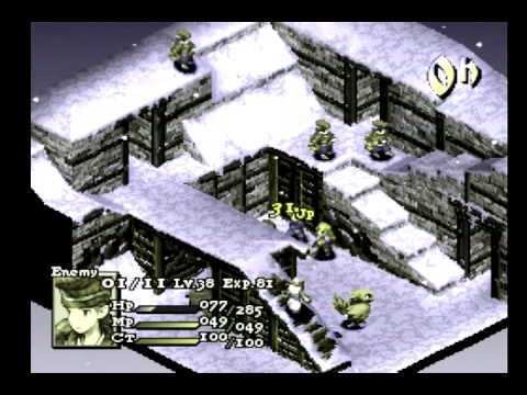 Final Fantasy Tactics Default Job Run #50: Chemists in the Colliery