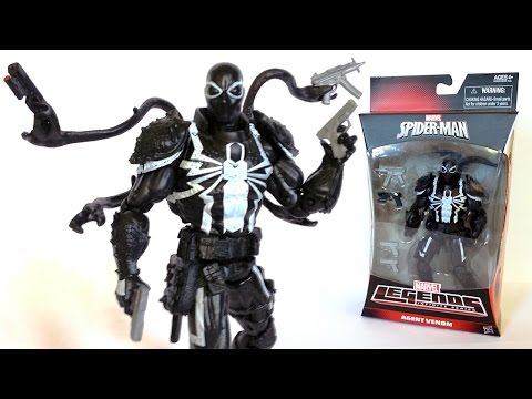 AGENT VENOM Marvel Legends Walgreens Exclusive Action Figure Review