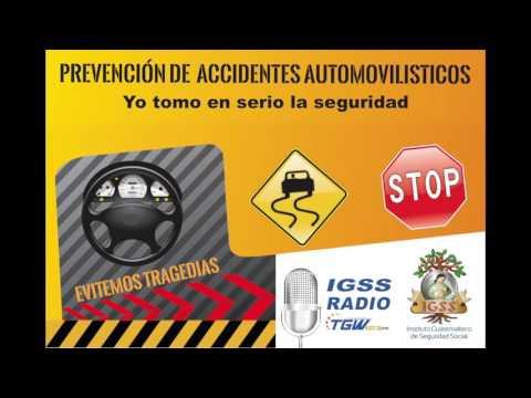 IGSS RADIO: Prevención de Accidentes Automovilísticos, 9a. Emisión