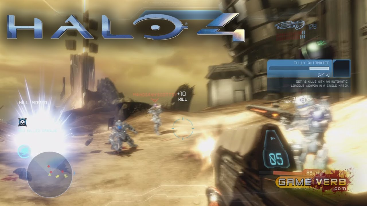 Halo 4 Epic Kills Gameplay on Wreckage Crimson Map Pack 1 ...