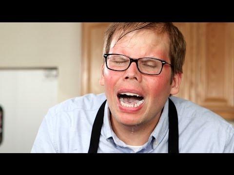 TV SHOW FAIL! Host accidentally eats world's hottest pepper!