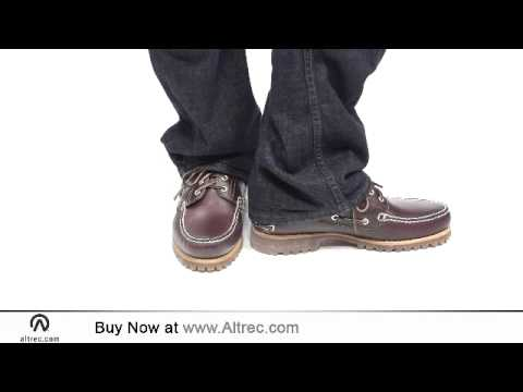 Video: Men's Classic Lug 3-Eye Boat Shoe