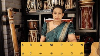 Lesson 03 - Introduction to the 7 Notes of the Music Scale |  Ada Vessanthara Drama Song