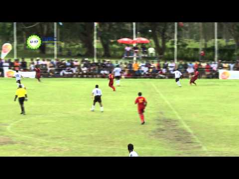 2013 OFC U 17 Championship Day 3 Fiji vs Papua New Guinea Highlights