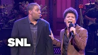 Monologue: Bruno Mars Is Nervous About Hosting - SNL