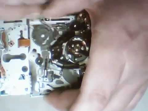 Repair Sony MD N220 Tape Drive System Error Code C:32:11 C:32:10