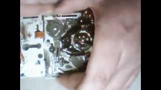 Repair Sony MD N220 Tape Drive System Error Code C:32:11 C:32:10