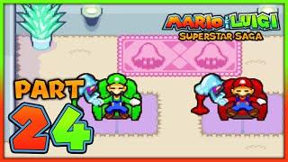 Mario & Luigi Superstar Saga Part 24: Die Lachlagune & Masseuse Ellen & Ganzia!