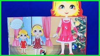 Đồ chơi bé gái dán hình trang điểm váy đầm công chúa Ly Ly, những ngôi sao nhỏ (chị Chim Xinh)