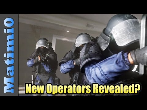 New Brazil Operators Revealed? - Rainbow Six Siege