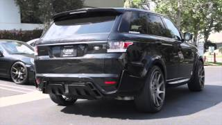 STARTECH Valved Exhaust System - Range Rover Sport 2014+ V8 - TAG Motorsports