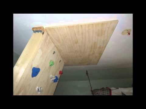 DIY Home Bouldering Wall