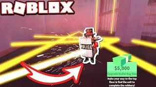 Jailbreak Mythbusters: RIOT SHIELD BLOCKS LASERS!!! (Roblox Jailbreak)