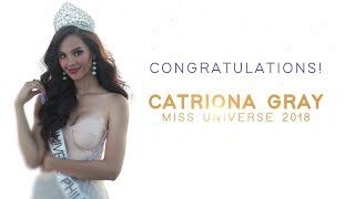 Congratulations Miss Universe 2018, Catriona Gray | Philippines