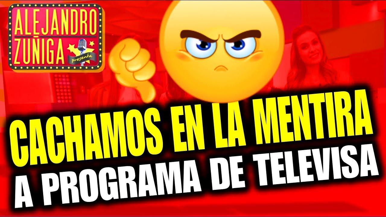 DESENMASCARAMOS A PROGRAMA DE TELEVISA