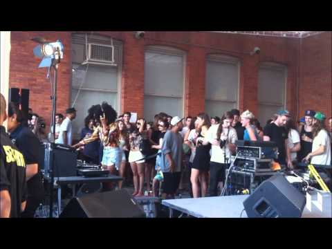 Solange Knowles DJing at Warm Up MomaPs1