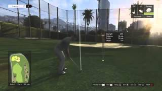 GTA 5 Playing Golf
