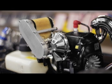 How to Install the 1/5th Scale Supercharger to the Losi 5ive