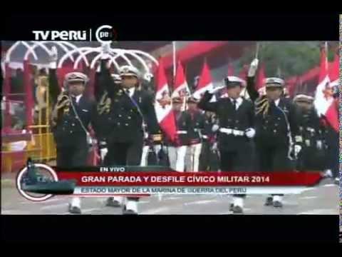 Gran Parada Militar: Marina De Guerra Del Perú