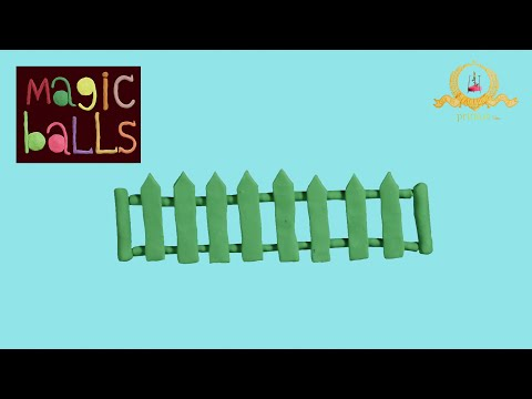 Magic Balls - Fence - Educational cartoons for kids