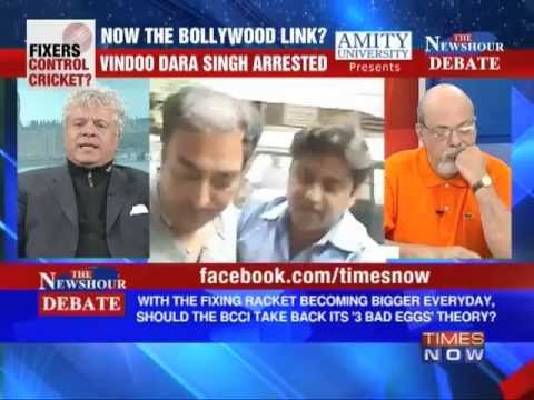 The Newshour Debate: Will Bollywood Links, how big can the IPL Scandal get? (Part 1 of 4)