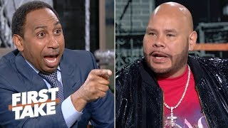Fat Joe and Stephen A. vent their frustrations about the Knicks losing out on Zion | First Take
