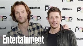 Supernatural's Jensen Ackles & Jared Padalecki Get Sentimental | PopFest | Entertainment Weekly