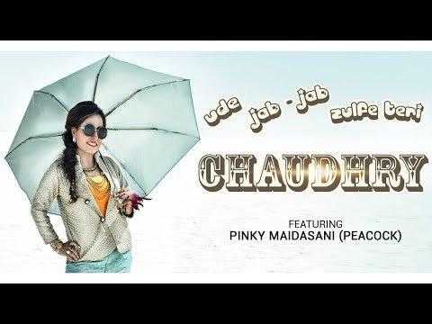 Ude jab jab zulfein / Chaudhary Mashup  Cover by Pinky Maidasani