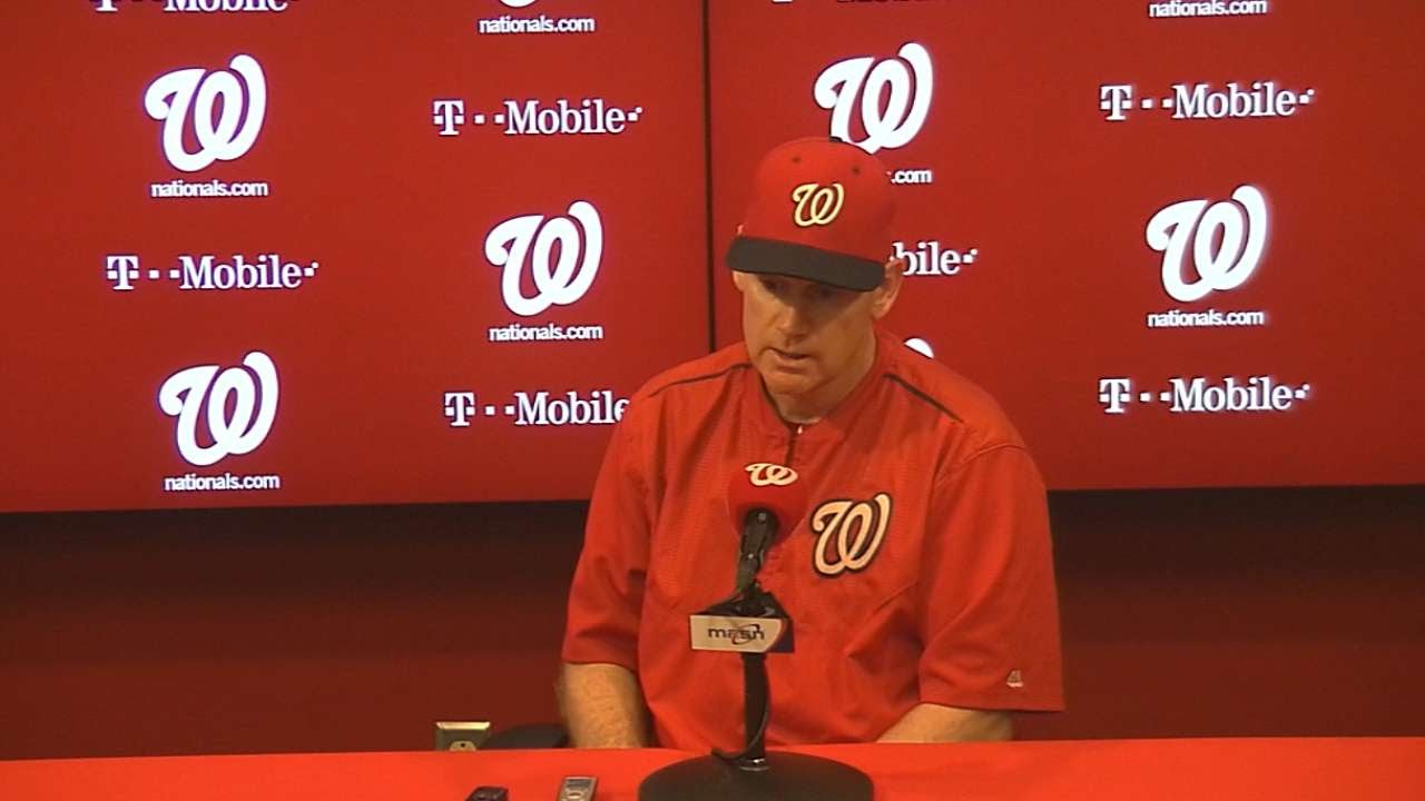 SF@WSH: Williams discusses the Nationals' 3-1 win