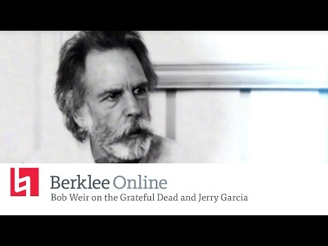 Bob Weir on the Grateful Dead and Jerry Garcia - New Online Course Rock History