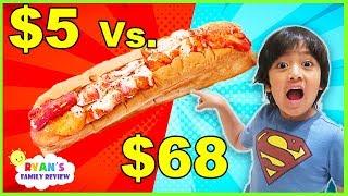 $5 Sandwich Vs.  $68 Sandwich!!! Worth it??????