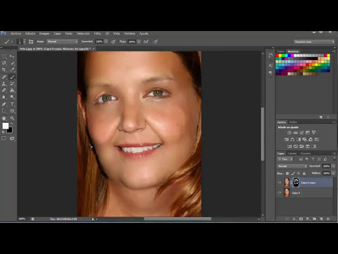 Como quitar las arrugas con photoshop cs6 2013