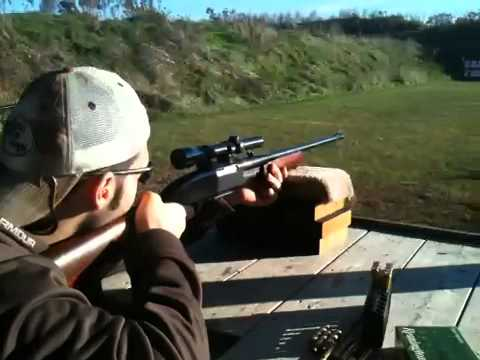 Chris shooting a Remington 760 gamemaster