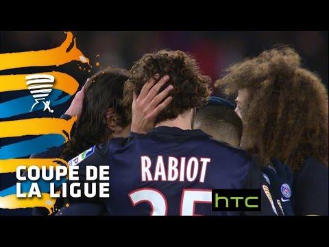 Paris Saint-Germain - Olympique Lyonnais (2-1)  (1/4 de finale) - Résumé - (PARIS - OL) / 2015-16