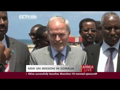 New United Nations mission in Somalia.