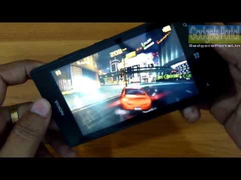 Nokia LUMIA 525 Gaming Review: ASPHALT 8.MASS EFFECT.ASSASSIN'S CREED.HOT PURSUIT & 5 more