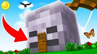 HOW TO LIVE INSIDE A SKELETON IN MINECRAFT!