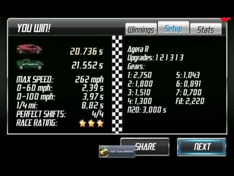 Android Drag Racing Level  Best Car