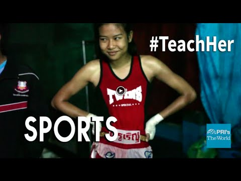 This Muay Thai boxer is a champion in northern Thailand. And she's only 17. | The World