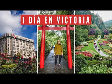 Visitando VICTORIA en 1 Día + Paseo por los JARDINES BUTCHART en Columbia Británica, Canadá