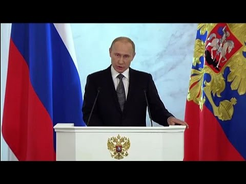 Putin says West using sanctions to undermine Russia