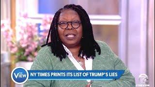 NY Times Prints Long List Of TRUMP